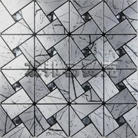 aluminum facade - AIA metal gray aluminum panels mosaic triangular wood Black Diamond Self adhesive backdrop facade New Promotions
