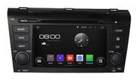 Pure Android 4.4.4 Cortex A9 de doble núcleo de 7 pulgadas capacitiva Multi-touch pantalla coche reproductor de DVD para OLD MAZDA 3 2004-2009 con navegación GPS