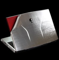 Wholesale KH High quality Special Laptop Color Metal drawing Leather Cover Skin Guard Protector Fit Alienware M11X R1 R2 R3