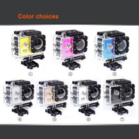 Wholesale 720P HD Camera Extreme SJ4000 A7 Sport DV Action Camera Diving M Waterproof original box for