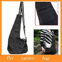 Totes bag carrier pet - High quality Pet Carrier Bag Oxford Cloth Dog Cat Carrier Single Shoulder Bag Black S M L Size Dropshipping