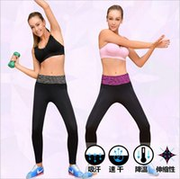 Wholesale women ninth length Quick Dry Leopard Yoga Pant High Waist capris sport pants athletic legging running pants pencil
