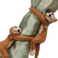 Wholesale Hot Sale Monkeys Curtain Buckle Tiebacks Holder Window Drapery Hooks Decoration