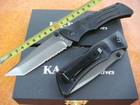 ka-bar - Popular knife ka bar rescue knife blade EDC Tactical knife folding blade Hunting Fighting Knives christmas gift L