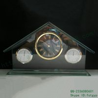 architectural homes styles - Architectural style highly transparent float glass bell hops second seat quartz movement strange new home daily alarm