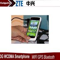 "Cheap wholesale Original 5pcs quad brand cheap phone WCDMA 3G ZTE V880 MSM7227 Single core Android 3.5"" free shipping pk huawei"