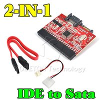 ata driver - Brand New in SATA to IDE Adapter IDE to SATA Converter pin quot inch Hard Disk Driver Support for ATA HDD CD DVD