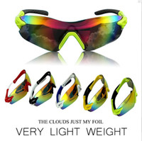 Wholesale cycling glasses professional bicycle glasses bike biycle sports sunglaaes cycling proteceive cycling eyewear clour