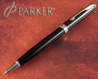 Wholesale Brand Parker Ballpoint Pen Black With Silver Clip Good Quality Fast Writing Pen
