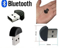 Wholesale Smallest Ultra slim Small Mini bluetooth V2 EDR Wireless USB Dongle Adapter adaptor plug and play DHL