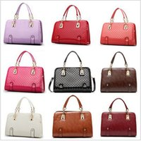 red patent leather handbag - candy Patent Leather tote designer handbags high quality bags handbags women famous brands Crossbody Shoulder Bag