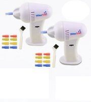 Wholesale WAXVAC CORDLESS VACUUM EAR CLEANING SYSTEM CLEAN EAR WAX VAC Have the original packaging
