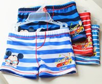 Cheap TuTu swim shorts Best Summer Pleated boy swimwear
