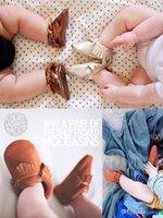 Wholesale New M Newborn Infant Baby Girl Boy Soft PU Leather Anti slip First Walker Prewalker Shoes Multi Color Types