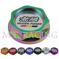Wholesale Mugen Aluminum Racing Car Engine Oil Filter Cap Fuel Tank Cover Plug for Honda