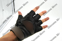 Wholesale Winter Windproof waterproof Warm Protective Armed Climbing Bicycle Racing for man half finger Motorcycle motocross Gloves