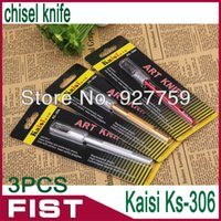 Cheap Kaisi Ks-306 mini wood carving tools high quality the knives chisel knife chisel phone circuit board foil tools