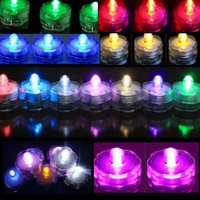 Wholesale 1 Led Submersible Waterproof Wedding Decoration Party Tea Light