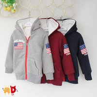 ads girls - AD Kid s Thickening Sweatshirts Age Boys amp Girls Fleece Double Layer Hoodies Sweaters Children s Winter Super