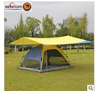 Wholesale Large new camel outdoor camping tent canopy tent accessories than wild shade tent car roof