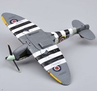 model aircraft engine - Dragon Fighter Model Toys WWII Spitfire Fighter Mk Vb w Aboukir Engine Madras Squadron Aircraft Fighter Planes Model
