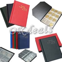 Wholesale Fashion Money Penny Pocket Coin Holders Collection Storage Album Book Supply