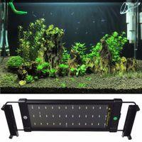 Wholesale Aquarium Fish Tank SMD LED Light Lamp W CM White Blue mode Extendable With US Power Plug