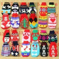 Wholesale Dog Clothes dog sweaters for Dogs Pet Sweaters Dog Sweaters Spring Rendering Equipment Pet Apparel Woolen