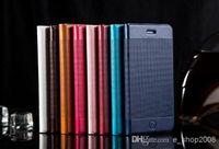 achat en gros de cadres pouces photo-Pour iPhone 6 4.7 De plus Sac 5,5 pouces étui en cuir PU Photo Frame Phone Cover Avec titulaire de la carte