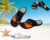 massage slippers - New Summer Shoes Flat Sandals Men Flip Flops Men Fashion Eva Massage Beach Slippers Shoes Flats Sandalias