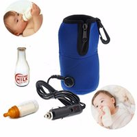 auto bottle warmer - Universal V Baby Food Milk Water Drink Bottle Cup Warmer Heater Car Auto Mini Linear Temperature Programmer Free DHL UPS FedEx