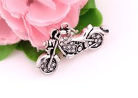 bicycles tricycles - antique silver a fashion bicycle tricycle motorcycle jewelry charm