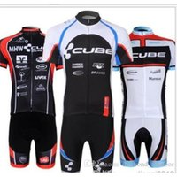 clothing factory - factory cycling jersey CUBE Racing short sleeve cycling clothing and cycling short sets bike jersey Cycling Jerseys