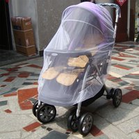 Wholesale 2014 new arrival clever Baby Stroller Mosquito Net Buggy Pram Protector Pushchair Fly Midge Insect Bug Cover