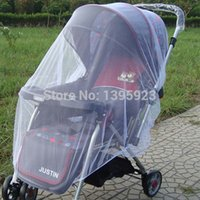 Wholesale Retail Trendy Infants Baby Stroller Mosquito Net Buggy Pram Protector Pushchair Fly Midge Insect Bug Cover Sizes