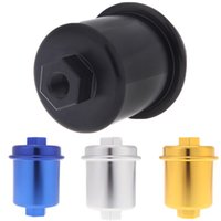 Wholesale Car Engine Fuel Accessories Fuel Filter Adapter High Flow Performance Racing for Honda Civic Aluminum Alloy colors order lt no track