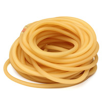 Wholesale M Natural Latex Tubing Rubber Band x5mm Resilient Tube For Slingshot Catapult Stretch Elastic Part