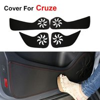 automobile news - News Car Door Protecter Side Edge Protection Pad For Chevrolet Cruze Anti kick Mat For Automobile