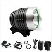 bike light - 3000 Lumens W High Power CREE Head XML T6 LED Bicycle Bike White Light Front Lamp in Aluminum alloy Waterproofing
