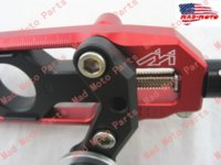 Other motorcycle chain adjuster - MAD MOTO motorcycle Chain Adjuster with spool fit for HONDA CBR RR red black color M53174