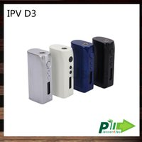 Pioneer4you VPI D3 80W TC Box Mod YiHi Chip-Set de Contrôle de la température 18650 E-cigarette Mods match Uwell Couronne réservoir Arctique Turbo 100% d'origine