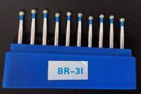 applied diamond - FG Diamond Bur BR Pack Dental Clinic Material applied in High Speed handpiece