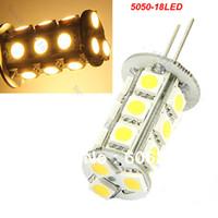 Wholesale G4 SMD LED Warm White Light Bulb Chip DC V k Lamp