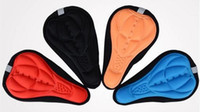 Wholesale Bicycle Parts Bicycle Seat Saddle Covers D Bike Saddles Pads Cycling Mats Colorful Soft Cushion Color