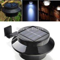Wholesale 1 Pc Black Super Bright Yard Lamp Solar Panel Garden Light LED Lights Outdoor Home Decor Deft Design Garden Solar Light