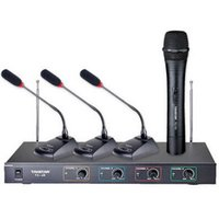 conference system - Takstar TC R VHF Wireless Microphone system Conference mic Handheld mic for Conference lecture outdoor activities