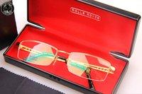 Wholesale New Rolls Royce Glasses Frame Men Polarized Driving Hollow Eye Glasses Mens Brand Designer Fashion Oculos Male Myopia Eyewear