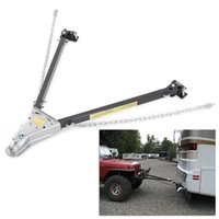 adjustable tow bar - LB Adjustable Tow Towing Bar Bumper Mount Chains Car Truck Tow