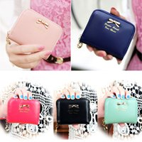 Wholesale New Fashion Lady Women Bag Leather Wallet Zip Around Wallet Card Holder Handbag P4PM