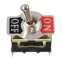 Wholesale Heavy Duty Toggle Flick Switch V ON OFF Car Dash Light Metal Volt DPST